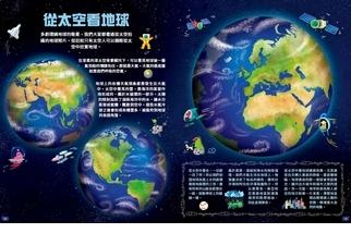 《探索世界大地圖》從太空看地球