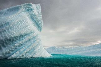 冰山的紋理
