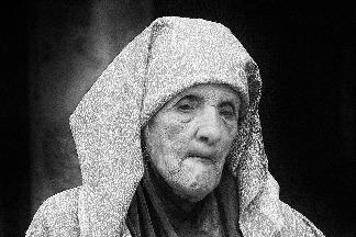 馬拉喀什的老婦人