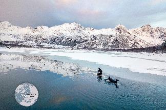 挑戰極地衝浪