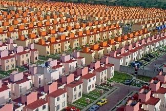 墨西哥的市郊住宅