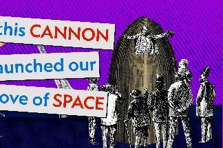 從科幻到科學:這門大砲打響了我們對太空的癡迷