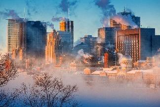 零下36度的蒙特婁