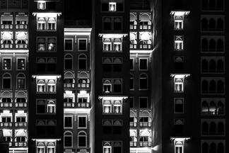 光影遊戲:杜拜的燈火