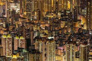 魔幻之眼:香港夜景
