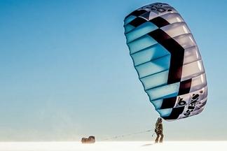 風箏滑雪千里路