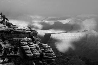 夢幻甜點:大峽谷雪景