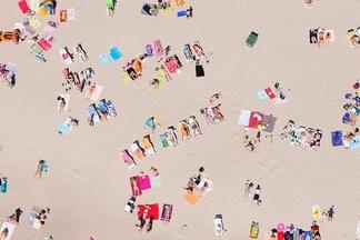 盛夏圖紋:愛沙尼亞的海灘