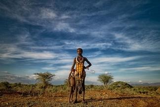 非洲的蒼穹之下