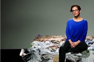 她將垃圾視為寶貴的資源