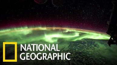 「美到捨不得眨眼!」從國際太空站看極光