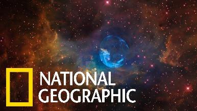 跟著NASA飛入絕美的「氣泡星雲」