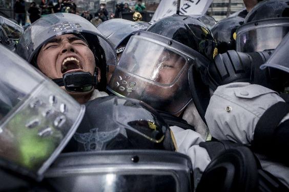 首爾G20高峰會期間的抗議遊行