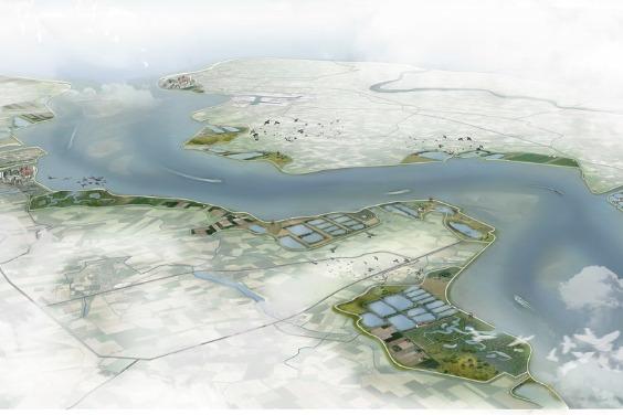 力抗海平面上升 荷蘭科學家提永續「雙重堤防」 防洪又創造經濟價值