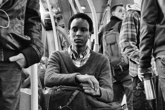 火車上的男子