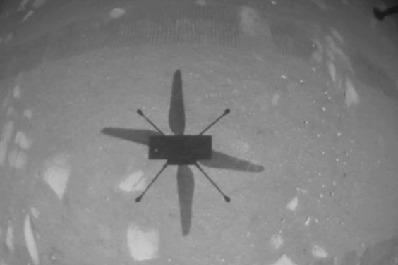 NASA「機智號」火星直升機寫下歷史新頁,首度在其他行星飛行!