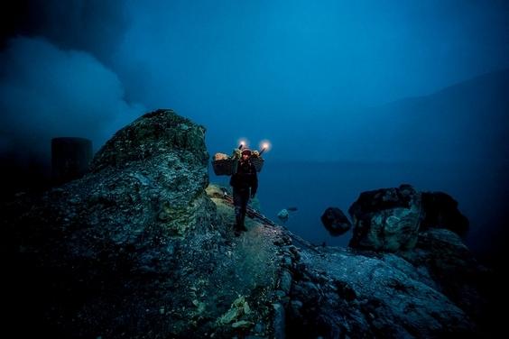 硫磺礦區探祕