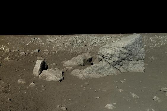 中國月球著陸器首度公布高清照
