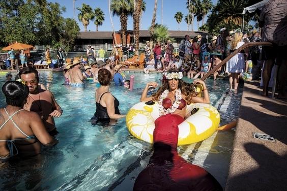 棕櫚泉派對