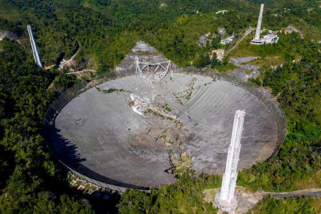 阿雷西博望遠鏡全面崩壞!