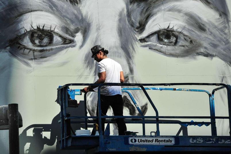 洛杉磯街頭藝術家