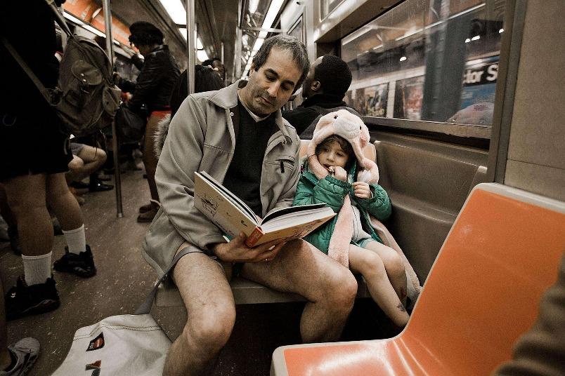 地鐵無褲日