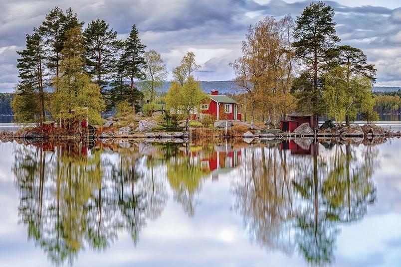 對影成雙:瑞典風情畫